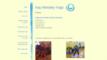 Kay Wensley Yoga